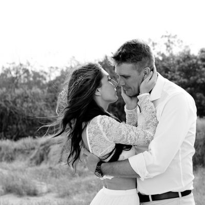 casuarina beach wedding kiss the groom brisbane gold coast wedding photographer-0829